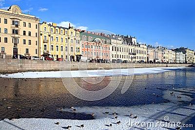 Saint-Petesburg. River Fontanka.