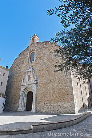 Saint Pierre church at Ceret, France