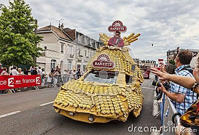 El vehículo de Banette Foto de archivo editorial