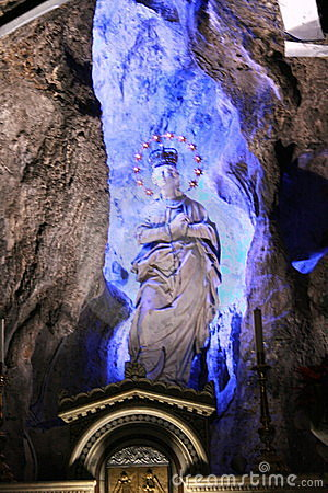 Saint Rosalia Madonna statue