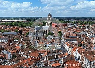 Saint Salvator Cathedral in Bruges, Belgium