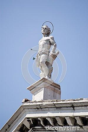 Saint Sebastian statue, Venice