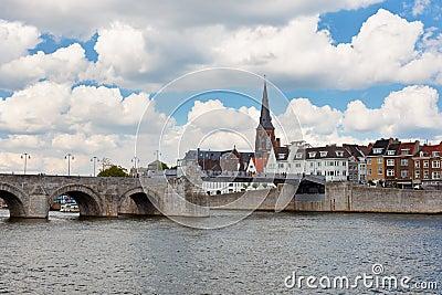 Saint Servatius Bridge in Maastricht