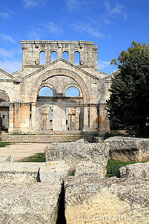 Saint Simeon basilica, Qala at Samaan, Syria