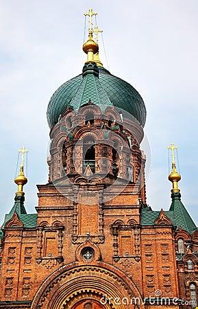 Saint Sofia Russian Orthordox Church Harbin China