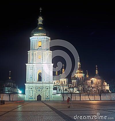 Saint Sophia cathedral. Kyiv, Ukraine.