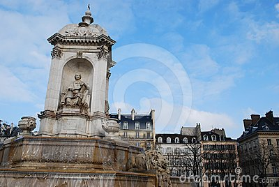 Saint Sulpice fountain, Paris
