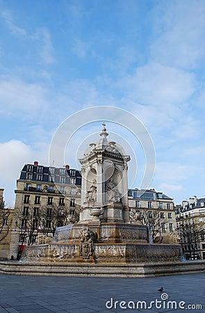 Saint Sulpice fountain, Paris
