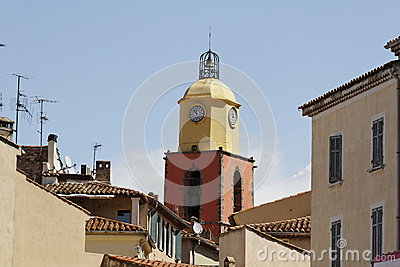 Saint Tropez, parish church, Southern France, Europe