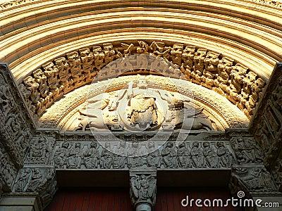 Saint Trophime portal, Arles ( France )