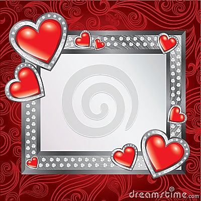 Saint Valentine s Day frame
