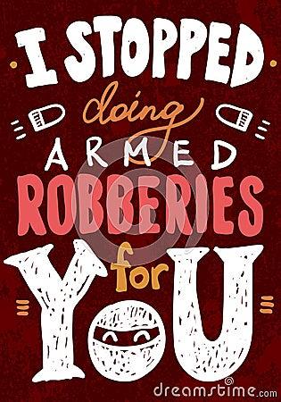 Saint Valentine s typography vector illustration.