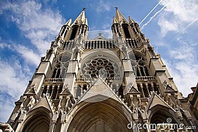 Saint Vincent de Paul church in Marseille, France