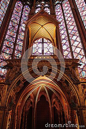 Free Sainte Chapelle Paris Royalty Free Stock Photos - 9478318