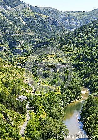 Sainte-Enimie, Gorges du Tarn