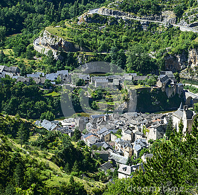 Sainte-Enimie, Kloven du de Tarn