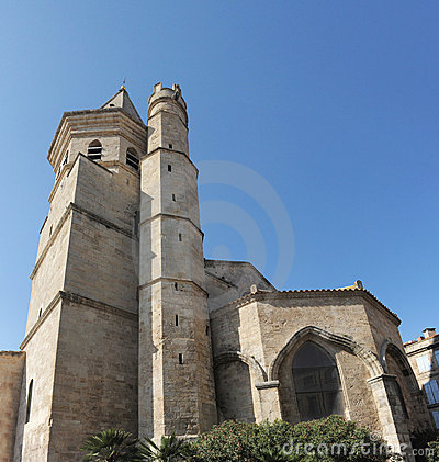 Sainte Madeleine church, Beziers