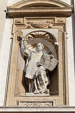 Free Saints Peter And Paul Church, Details Of Facade, Krakow, Poland. Royalty Free Stock Images - 90136819