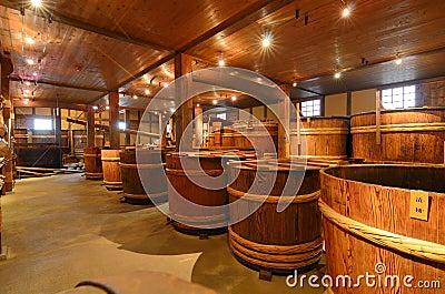 Sake Brewery Editorial Image