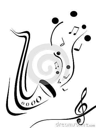 Saksofon,