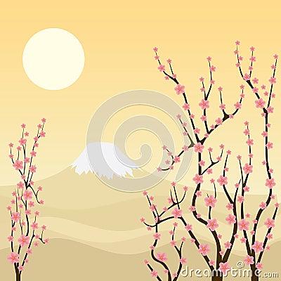 Sakura tree.