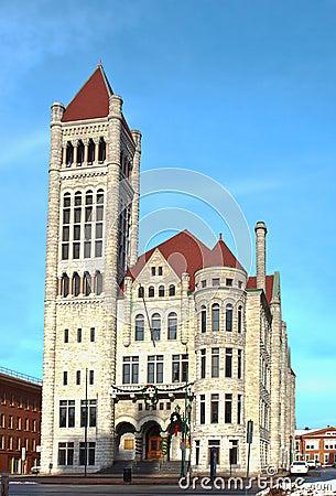 Salão de cidade, Siracusa, New York