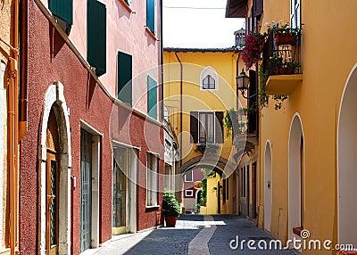 Salò (Italy) - alley