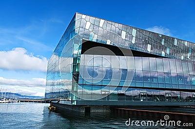 Sala de concertos em reykjavik