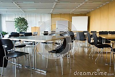 Sala de conferências vazia