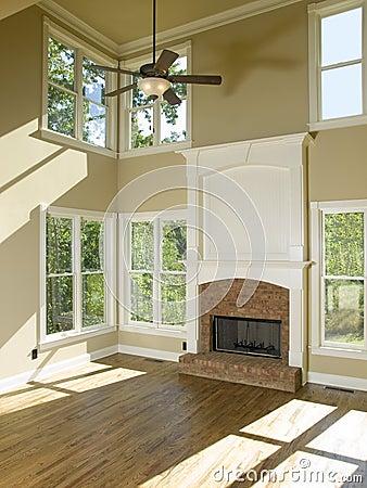 Salas con chimeneas elegantes - Chimeneas para pisos ...