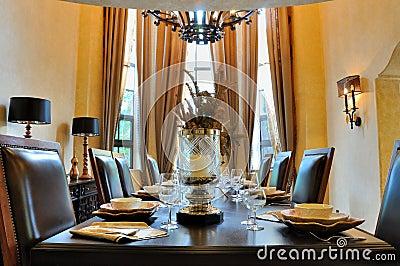 Sala de jantar interna