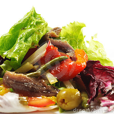 Salad with Anchovy