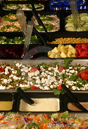 Free Salad Bar Royalty Free Stock Images - 512309