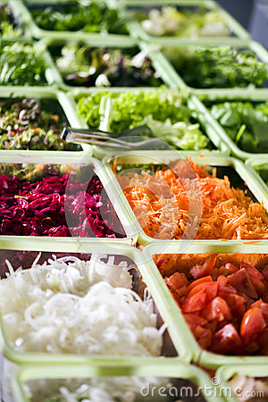 Free Salad Buffet Stock Images - 25803284