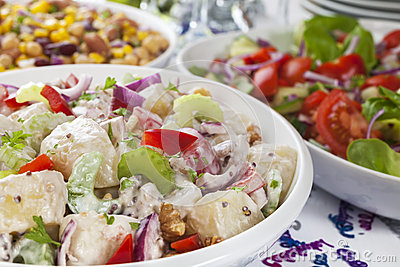 Salad Buffet Celebration