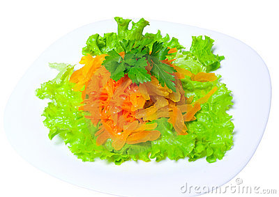 Salad of carrots