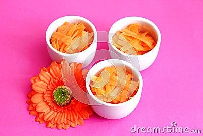 Salad of carrots