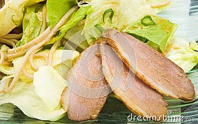 Salad fillet of duck 2