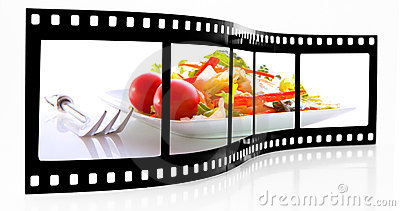 Salad film strip