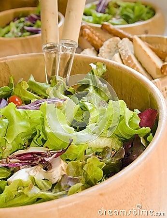 Salad Fresh And Healthy Royalty Free Stock Image - Image: 5190306