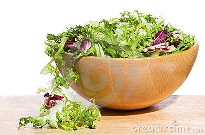 Salad with greens