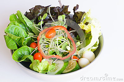 Salad mix eggs