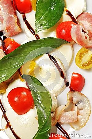 Salad - Tomato with Mozzarella
