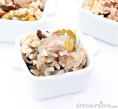 Salad of tuna