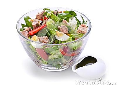 Tuna Fish Salad on Salad With Tuna Fish Wellmony Dreamstime Com