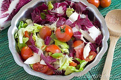 Salad vegetables
