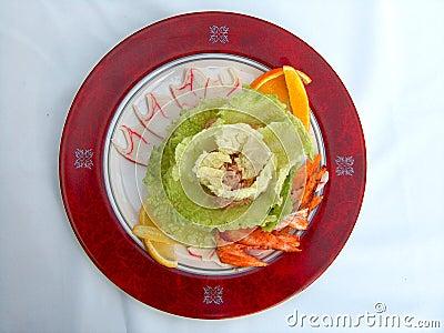Salada de atuns