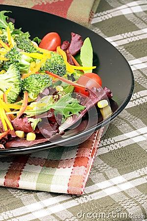 Salada saudável fresca