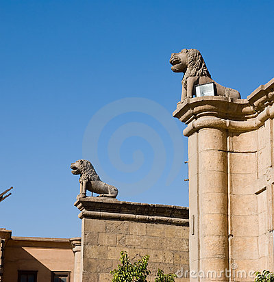 Free Saladin Citadel Of Cairo Egypt Stock Images - 12615154