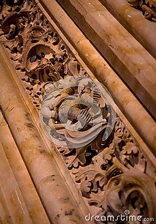 Salamanca Cathedral Astronaut